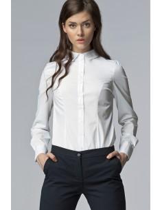Ženska klasična srajca z...