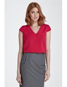 Bluza z modnim V-izrezom B74
