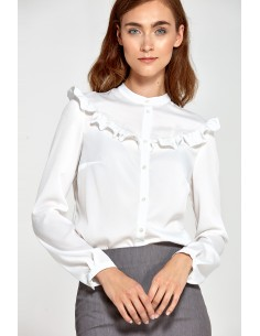 Bluza z naborki B82