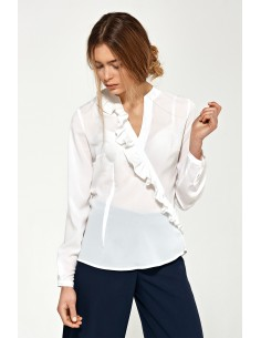 Bluza z asimetričnimi...
