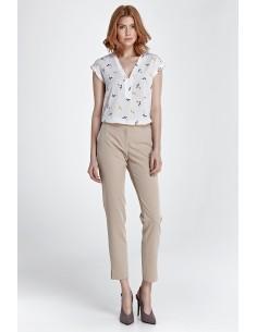 Elegantne hlače z majhnim...